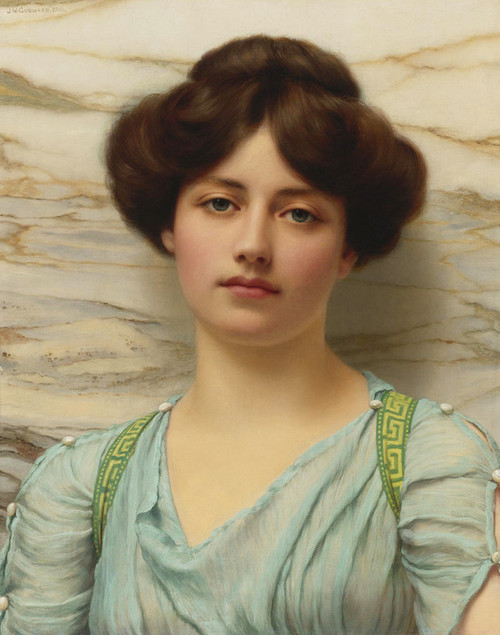 Art Prints of Carina by John William Godward