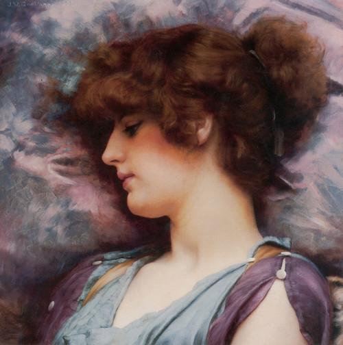 Art Prints of Far Away Thooughts by John William Godward