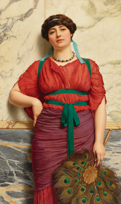 Art Prints of Eurypyle by John William Godward