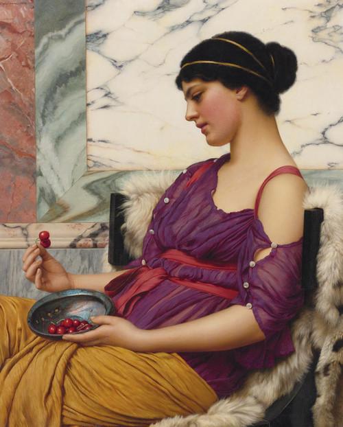 Art Prints of Ismenia by John William Godward