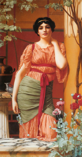 Art Prints of Nerissa by John William Godward