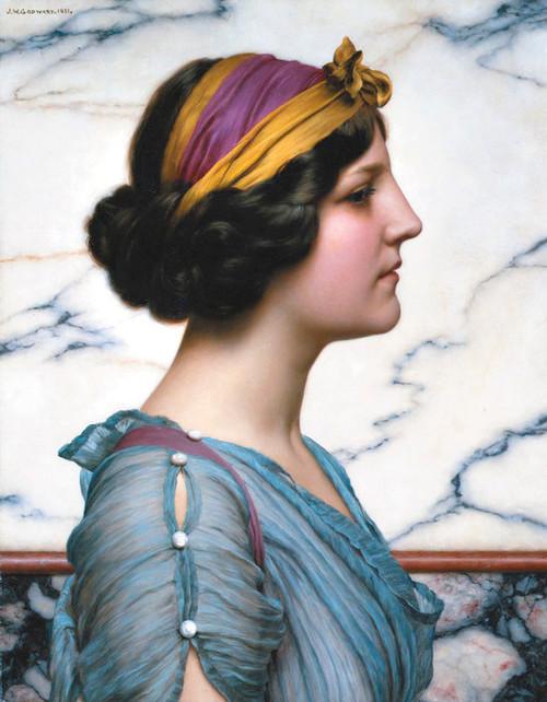 Art Prints of Megilla by John William Godward