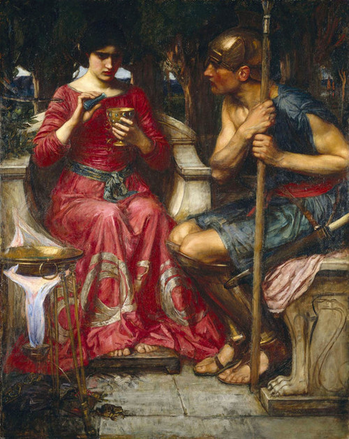 Art Prints of Jason and Medea by John William Waterhouse
