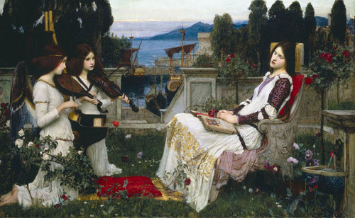 Art Prints of Saint Cecilia by John William Waterhouse