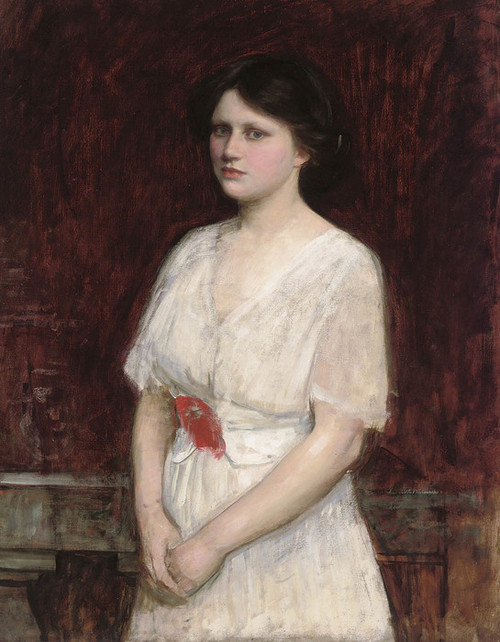 Art Prints of Portrait of Miss Claire Kenworthy by John William Waterhouse
