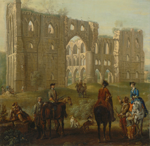 Art Prints of Rievaulx Abbey by John Wootton