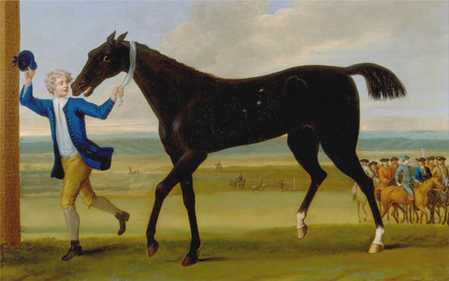 Art Prints of The Duke of Rutland's Bonny Black by John Wootton