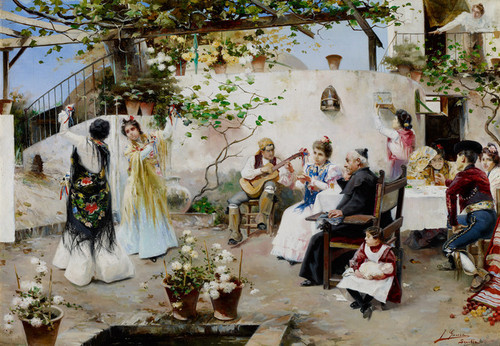 Art Prints of A Dance for the Priest by Jose Garcia Ramos