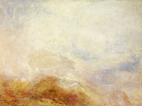 Art Prints of A Mountain Scene by William Turner