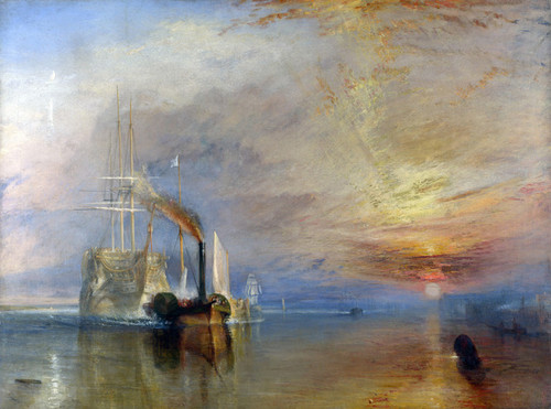 Art Prints of The Fighting Temeraire by William Turner