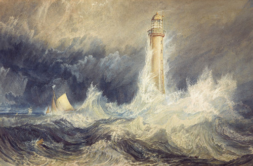 Art Prints of Bell Rock Lighthouse by William Turner