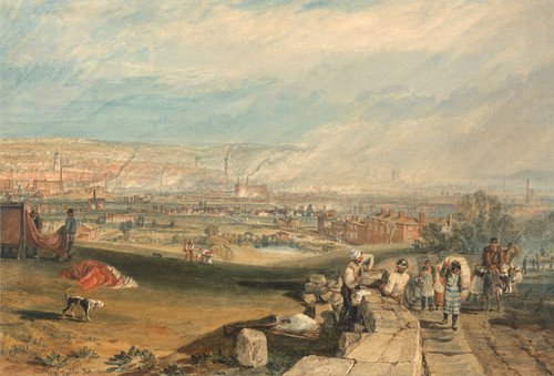 Art Prints of Leeds by Joseph Mallord William Turner