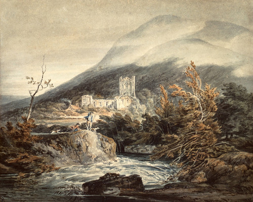 Art Prints of Llanthony Abbey, Monmouthshire by William Turner