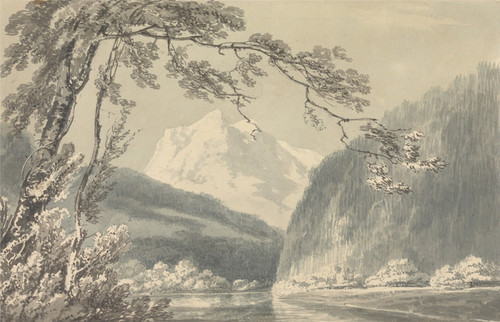 Art Prints of Near Grindelwald by Joseph Mallord William Turner