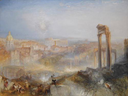 Art Prints of Modern Rome, Campo Vaccino by Joseph Mallord William Turner
