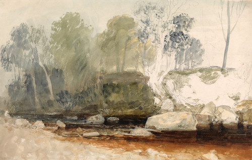 Art Prints of On the Washburn by Joseph Mallord William Turner