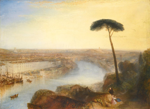 Art Prints of Rome from Mount Aventine by William Turner