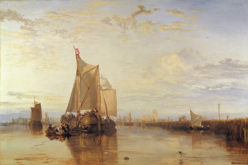 Art Prints of The Dort Packet-Boat from Rotterdam by Joseph Mallord William Turner