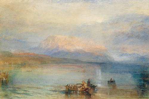 Art Prints of The Red Rigi by Joseph Mallord William Turner