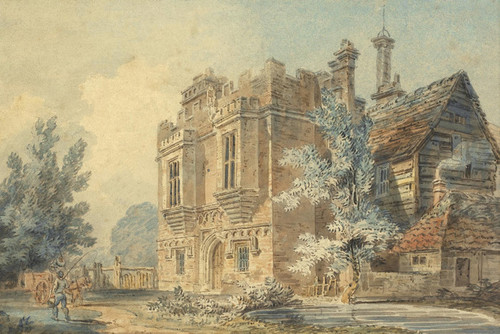 Art Prints of View of the Gatehouse at Rye House by Joseph Mallord William Turner
