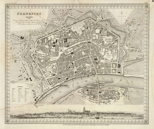 Art Prints of Frankfurt, 1845 (4807040) by Joseph Meyer