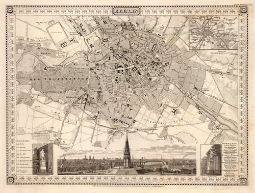 Art Prints of Berlin, 1860 (4807053) by Joseph Meyer