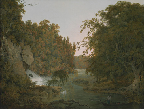Art Prints of Dovedale by Joseph Wright of Derby