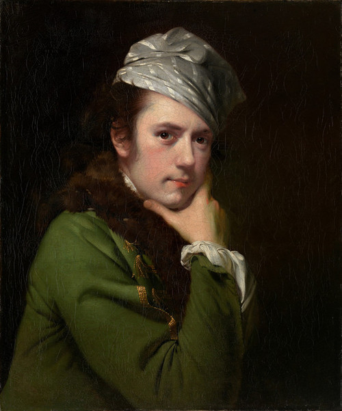 Art Prints of Self Portrait by Joseph Wright of Derby