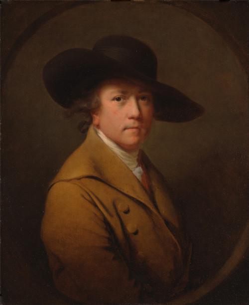 Art Prints of Self Portrait, 1780 by Joseph Wright of Derby