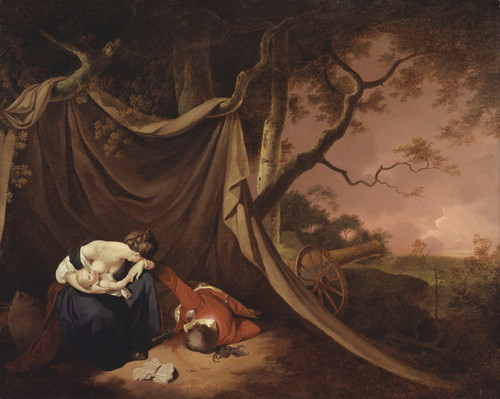 Art Prints of The Dead Soldier I by Joseph Wright of Derby