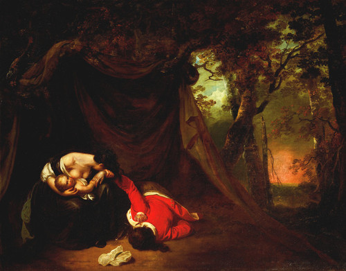 Art Prints of The Dead Soldier II by Joseph Wright of Derby