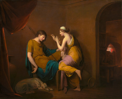 Art Prints of The Corinthian Maid by Joseph Wright of Derby