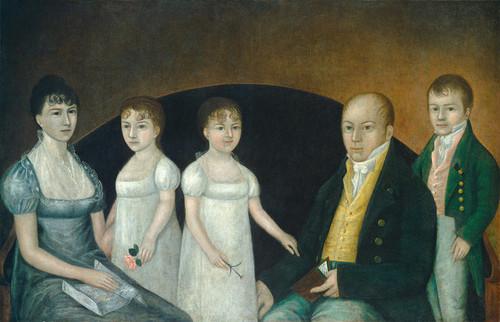 Art Prints of Family Group by Joshua Johnson