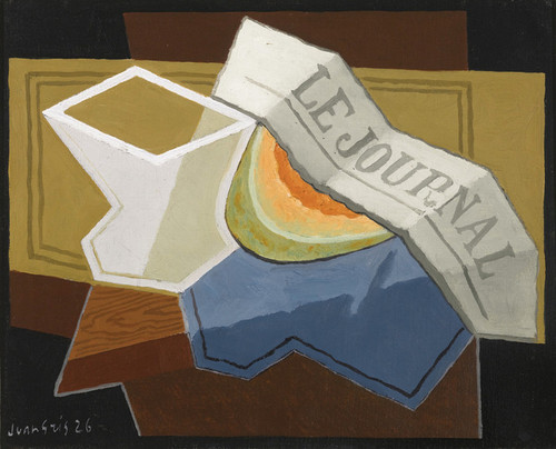 Art Prints of A Slice of Melon by Juan Gris