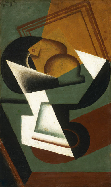 Art Prints of Dish of Fruit by Juan Gris