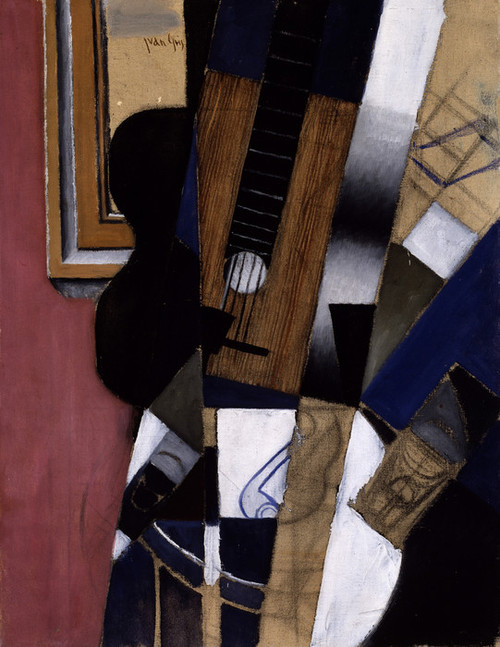 Art Prints of Guitar and Pipe by Juan Gris