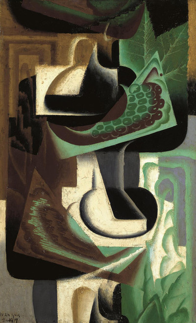 Art Prints of Grape Cluster by Juan Gris