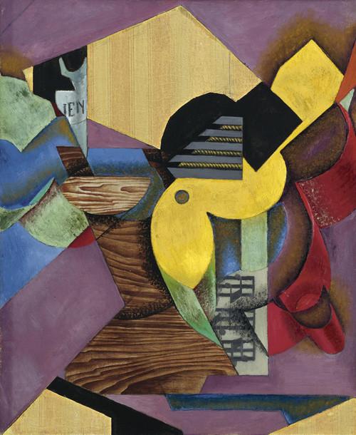 Art Prints of Guitar by Juan Gris