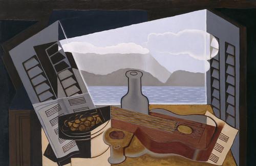 Art Prints of The Open Window by Juan Gris