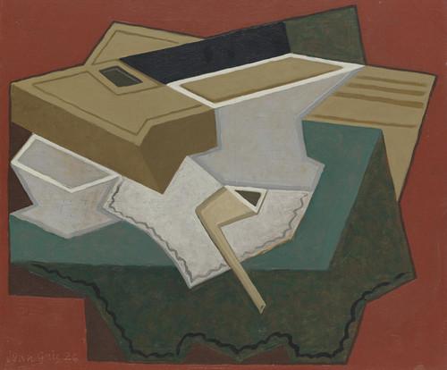 Art Prints of White Placemat by Juan Gris