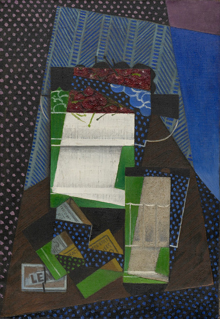 Art Prints of Cherries by Juan Gris