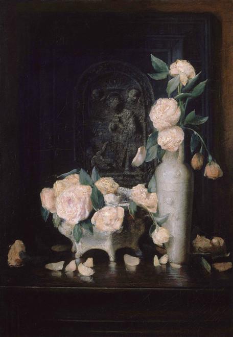 Art Prints of Roses by Julian Alden Weir