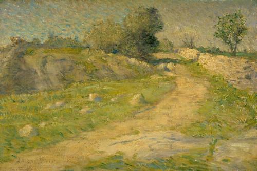 Art Prints of The Lane by Julian Alden Weir