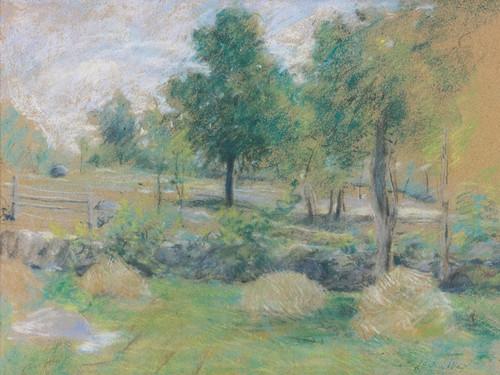Art Prints of Springtime, Connecticut by Julian Alden Weir
