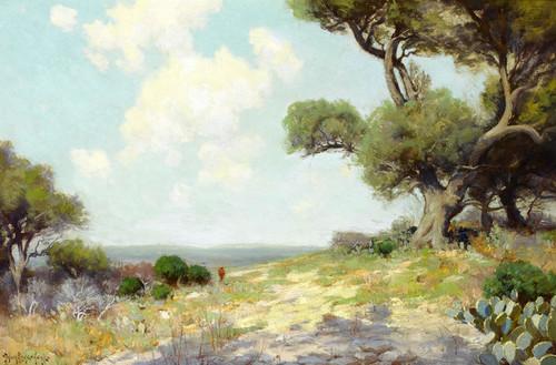 Art Prints of In the Hills, Southwest Texas 1912 by Julian Onderdonk