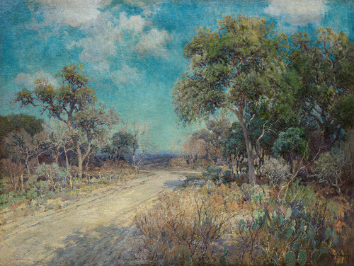 Art Prints of Road to the Hills by Julian Onderdonk