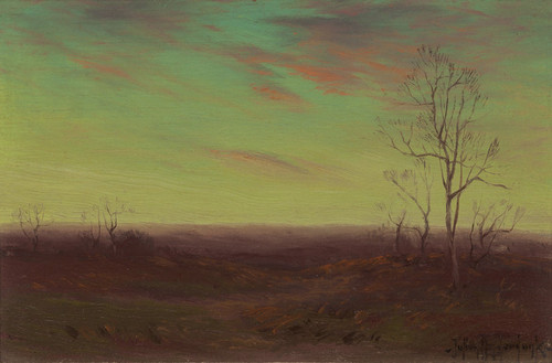 Art Prints of Winter Twilight, Southwest Texas by Julian Onderdonk