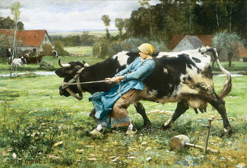 Art Prints of In the Pasture by Julien Dupre
