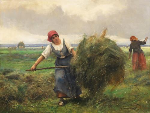 Hay Harvest or Heuernte by Julien Dupre | Fine Art Print