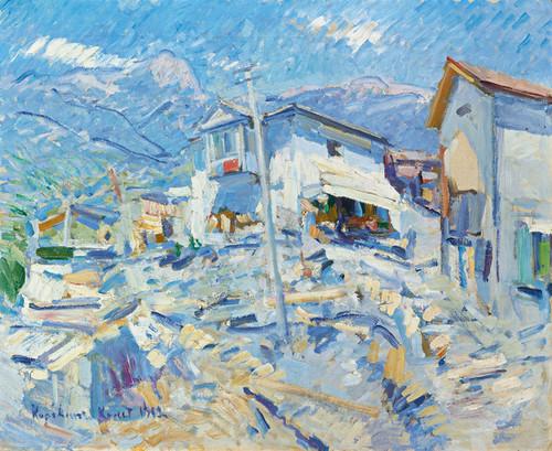 Art Prints of Crimean Landscape by Konstantin Alexeevich Korovin